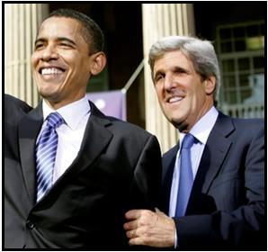 Kerry &Obama