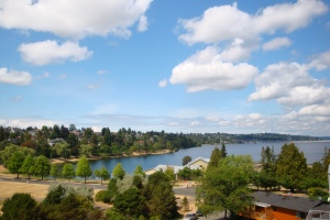 Lake Washington View home for sale in the community of Mt. Baker in Seattle, WA
